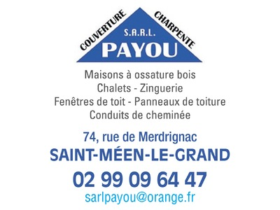 PAYOU  COUVERTURE CHARPENTE